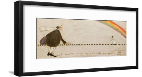 I Would Wait My Whole Life for You-Sam Toft-Framed Art Print