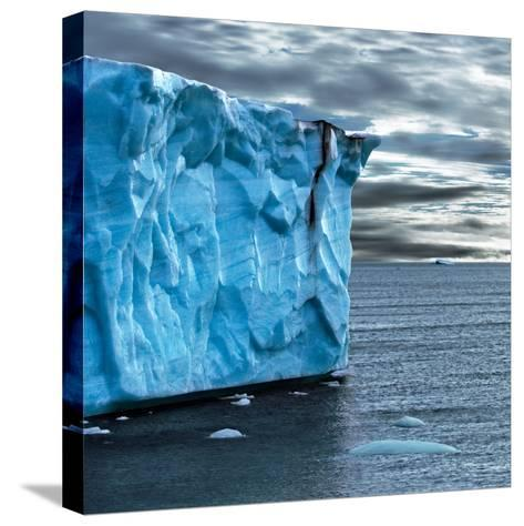 Glacial Edge-Howard Ruby-Stretched Canvas Print