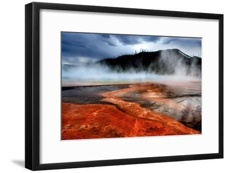Hot Springs at Dawn-Howard Ruby-Framed Art Print