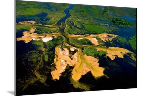 Delta Water Receding-Howard Ruby-Mounted Photographic Print