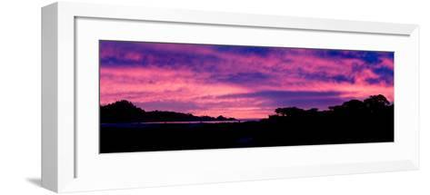 Sunset Silhouette-Howard Ruby-Framed Art Print
