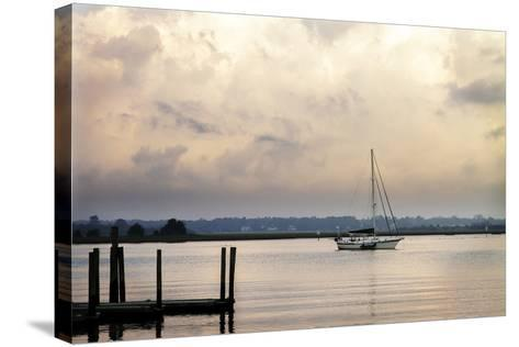 Morning on the Water I-Alan Hausenflock-Stretched Canvas Print
