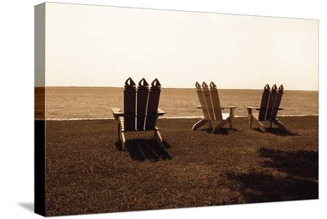Adirondack Chairs II-Alan Hausenflock-Stretched Canvas Print