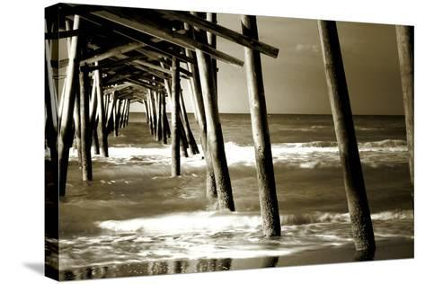 Under the Pier II-Alan Hausenflock-Stretched Canvas Print