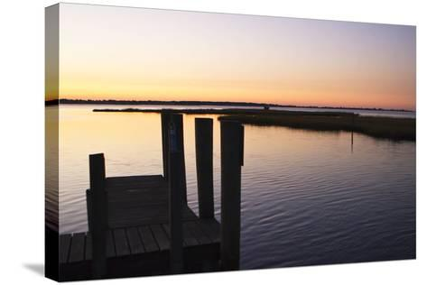Chincoteague Sunrise 2-Alan Hausenflock-Stretched Canvas Print