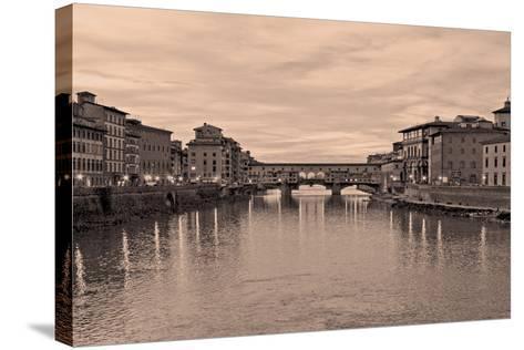 Ponte Vecchio VIII-Rita Crane-Stretched Canvas Print