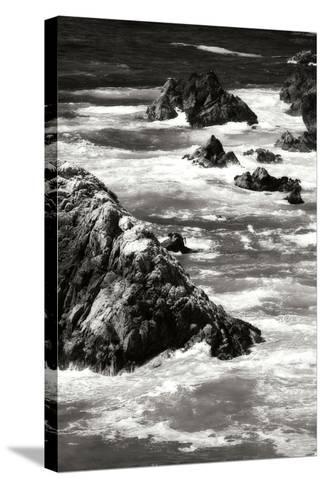 Garrapata Highlands 6 BW-Alan Hausenflock-Stretched Canvas Print