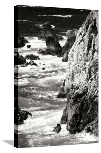 Garrapata Highlands 7 BW-Alan Hausenflock-Stretched Canvas Print
