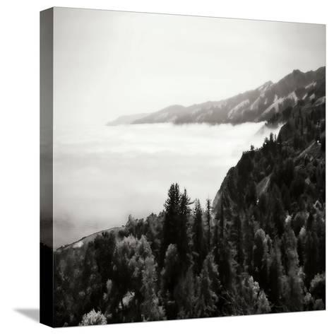 Pacific Fog Sq II-Alan Hausenflock-Stretched Canvas Print