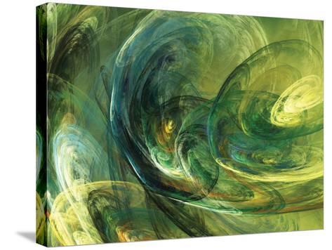 Fractal Light IV-Alan Hausenflock-Stretched Canvas Print