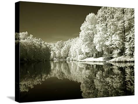 Ayer's Lake I-Alan Hausenflock-Stretched Canvas Print