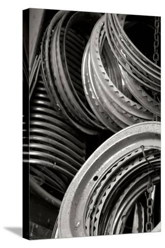 Antique Car Parts-Erin Berzel-Stretched Canvas Print