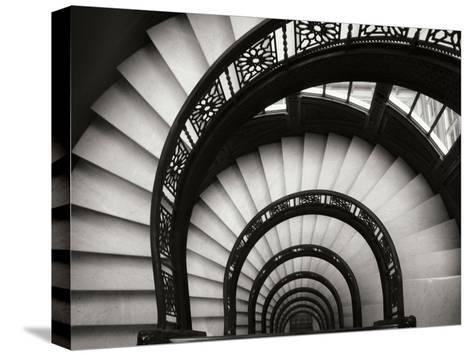 Rookery Stairwell-Jim Christensen-Stretched Canvas Print