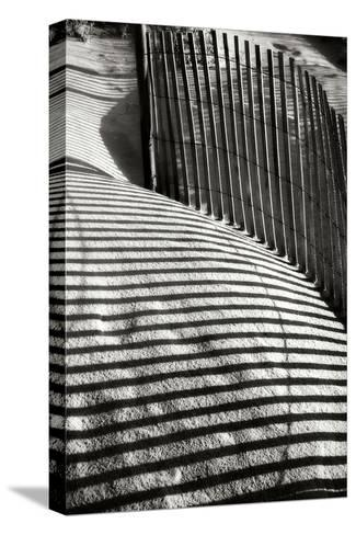 Dunes Fence VI-Alan Hausenflock-Stretched Canvas Print