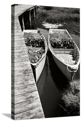 Nets and Boats 2-Alan Hausenflock-Stretched Canvas Print