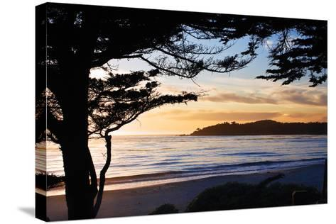 Carmel Sunset 3-Alan Hausenflock-Stretched Canvas Print