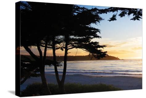 Carmel Sunset 4-Alan Hausenflock-Stretched Canvas Print