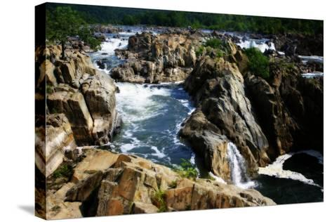 Great Falls II-Alan Hausenflock-Stretched Canvas Print
