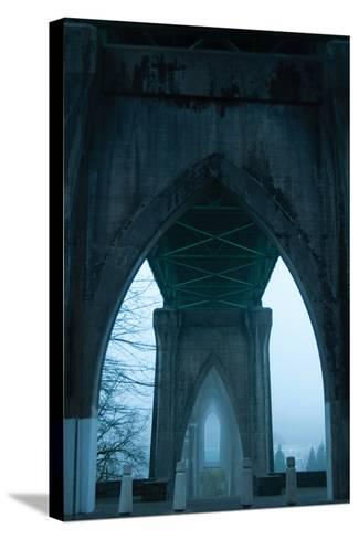 St. Johns Arches I-Erin Berzel-Stretched Canvas Print