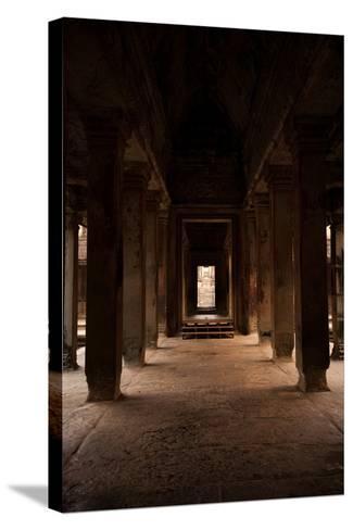 Angkor Wat I-Erin Berzel-Stretched Canvas Print