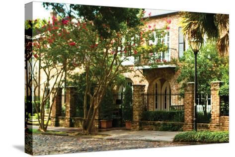 Charleston Streets-Alan Hausenflock-Stretched Canvas Print