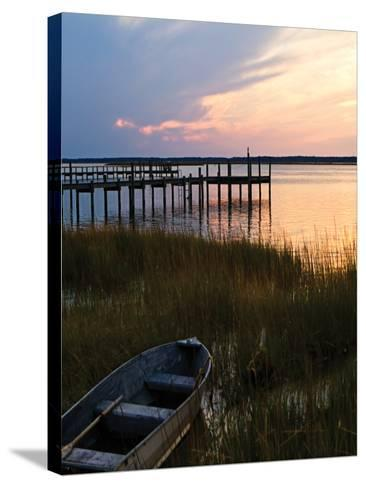 Channel Sunset III - Mini-Alan Hausenflock-Stretched Canvas Print
