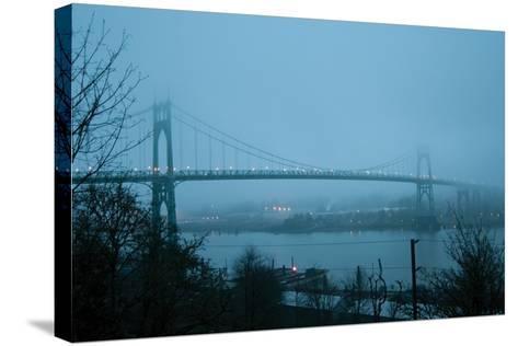 St. Johns Bridge VII-Erin Berzel-Stretched Canvas Print