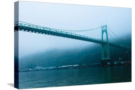 St. Johns Bridge IX-Erin Berzel-Stretched Canvas Print