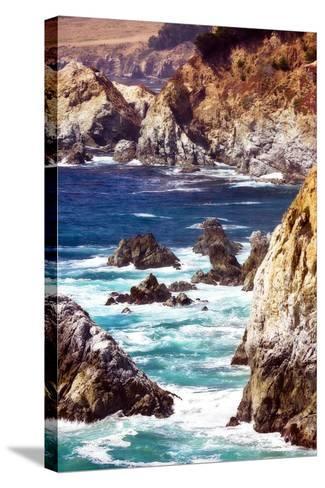 Garrapata Highlands IV-Alan Hausenflock-Stretched Canvas Print