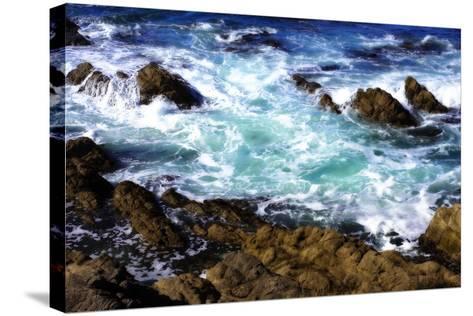 Churning Surf I-Alan Hausenflock-Stretched Canvas Print