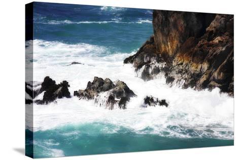 Churning Surf II-Alan Hausenflock-Stretched Canvas Print