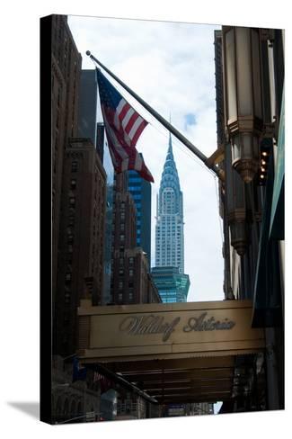 Chrysler Building II-Erin Berzel-Stretched Canvas Print