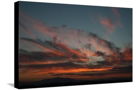 Cloudy Sunset I-Erin Berzel-Stretched Canvas Print