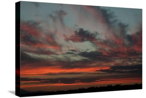Cloudy Sunset II-Erin Berzel-Stretched Canvas Print