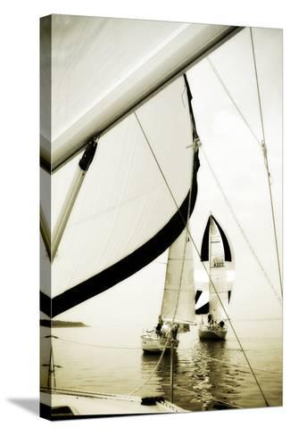 River Sailors I-Alan Hausenflock-Stretched Canvas Print