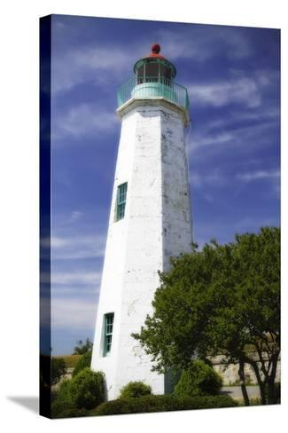 Old Point Comfort Light I-Alan Hausenflock-Stretched Canvas Print
