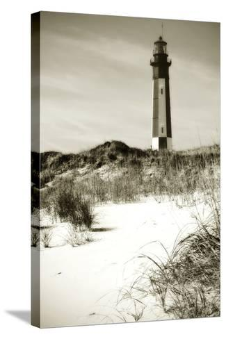 Cape Henry Light II-Alan Hausenflock-Stretched Canvas Print