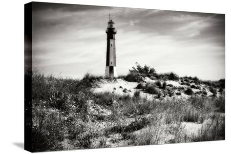 Cape Henry Light V-Alan Hausenflock-Stretched Canvas Print