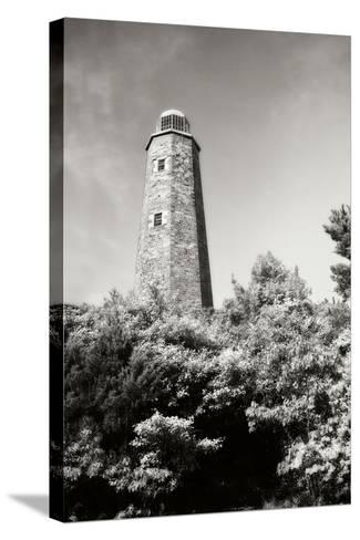 Old Cape Henry Light I-Alan Hausenflock-Stretched Canvas Print