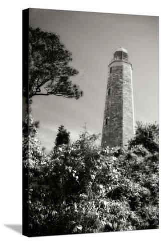 Old Cape Henry Light II-Alan Hausenflock-Stretched Canvas Print