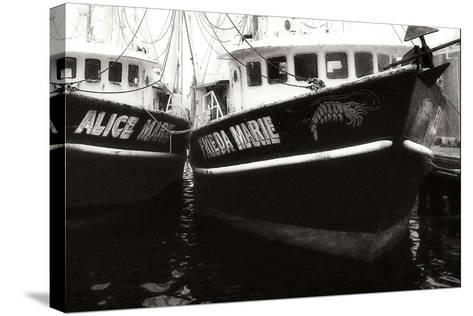 Beaufort Shrimpers-Alan Hausenflock-Stretched Canvas Print
