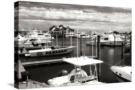Wrightsville Marina I-Alan Hausenflock-Stretched Canvas Print