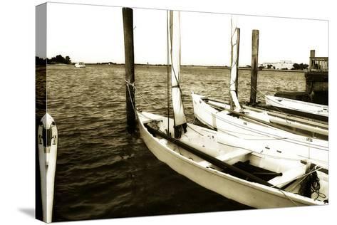 Skiffs III-Alan Hausenflock-Stretched Canvas Print