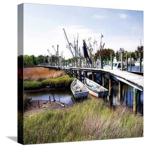 Marsh Harbor Square II-Alan Hausenflock-Stretched Canvas Print