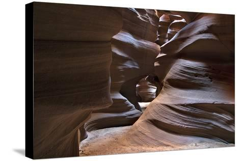 Upper Antelope V-Larry Malvin-Stretched Canvas Print