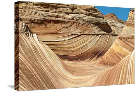 Wave Walls-Larry Malvin-Stretched Canvas Print