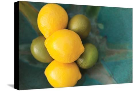 Lemons-Karyn Millet-Stretched Canvas Print