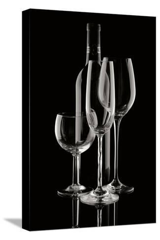 Wine Reflections II-C^ McNemar-Stretched Canvas Print