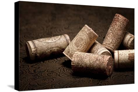 Wine Corks Still Life III-C^ McNemar-Stretched Canvas Print