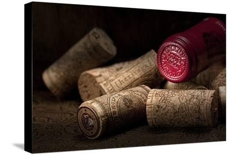 Wine Corks Still Life IV-C^ McNemar-Stretched Canvas Print